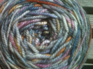 Ice Cream Yarn Closeup