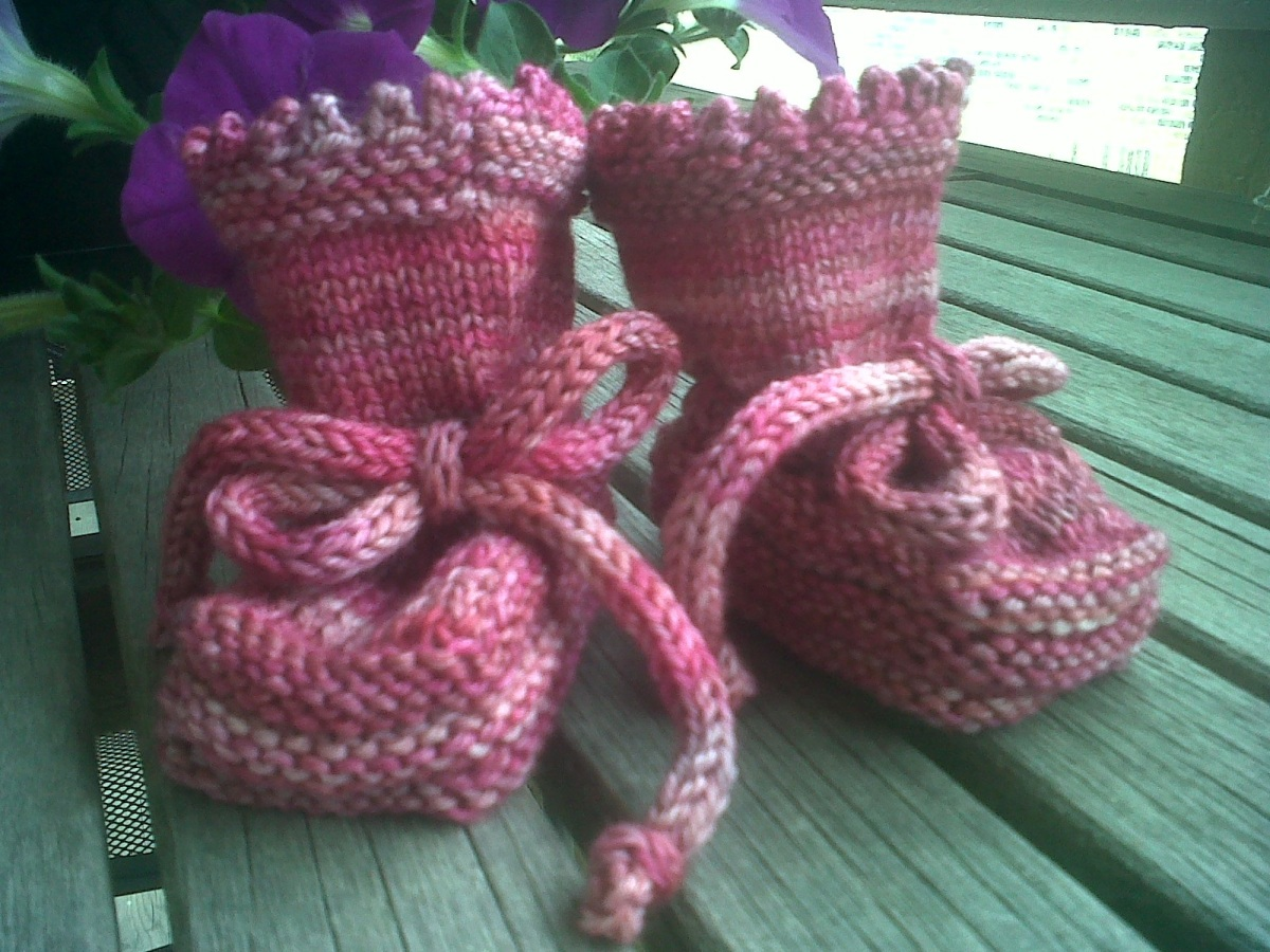 Pink Baby Botties