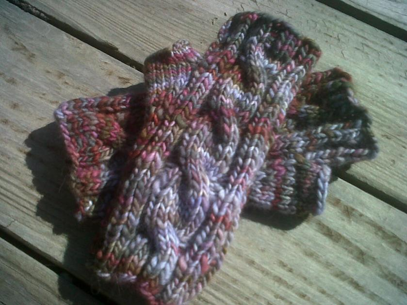 Finished Ugly Mitts