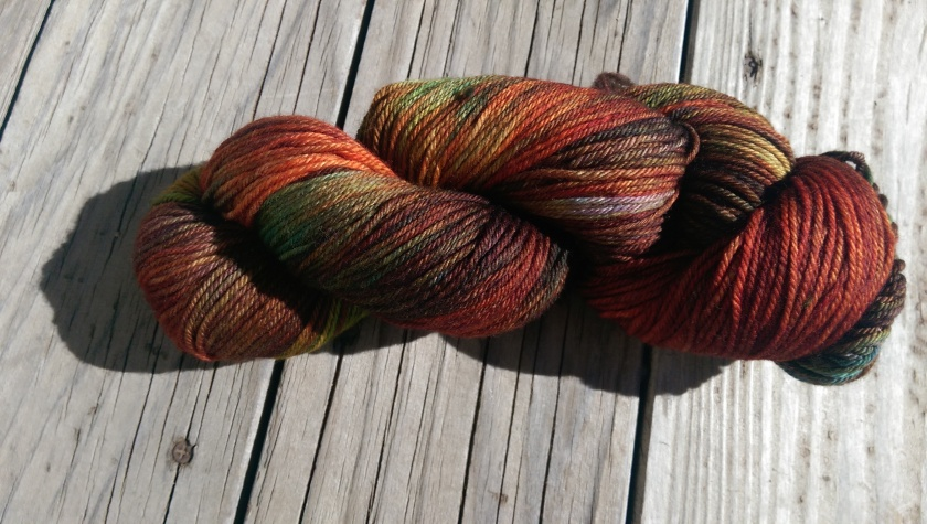 Skein of yarn.