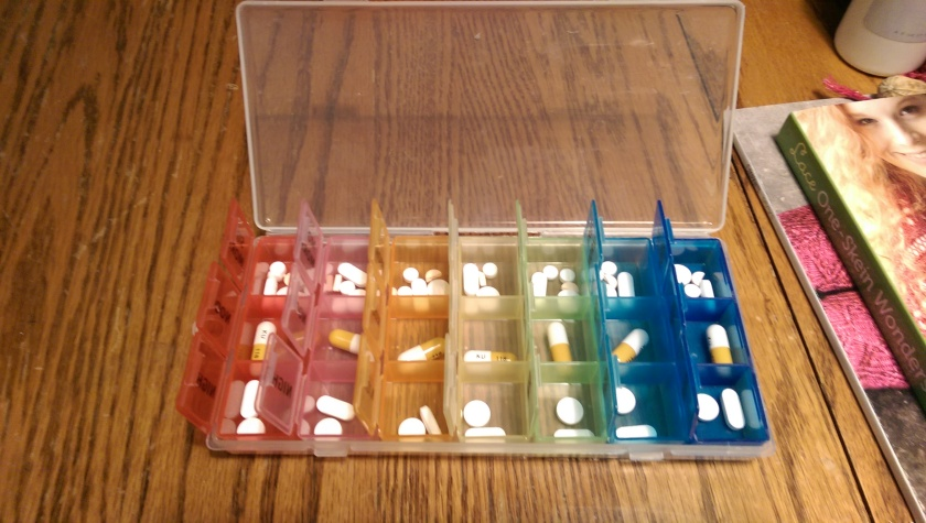 Pills in case