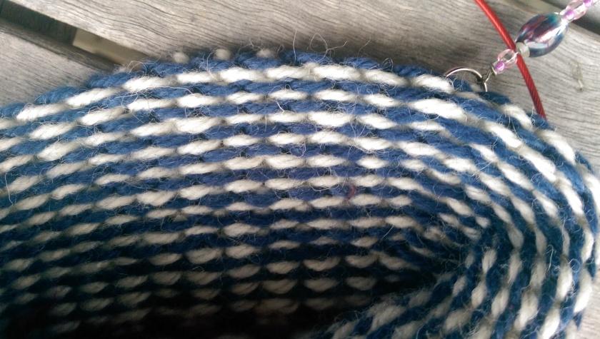 Inside of sock.