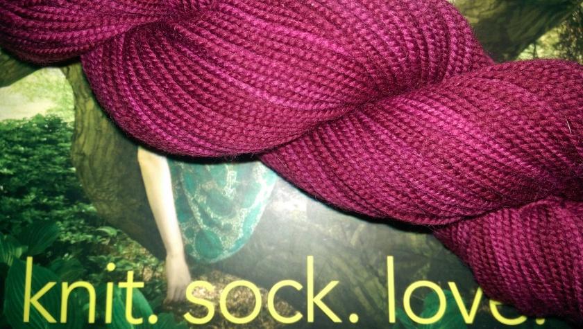 Yarn and book