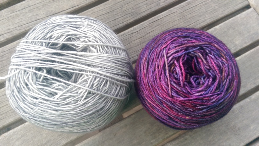 Yarn for the shawl