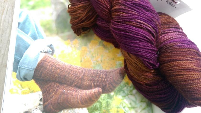Yarn and sock pattern