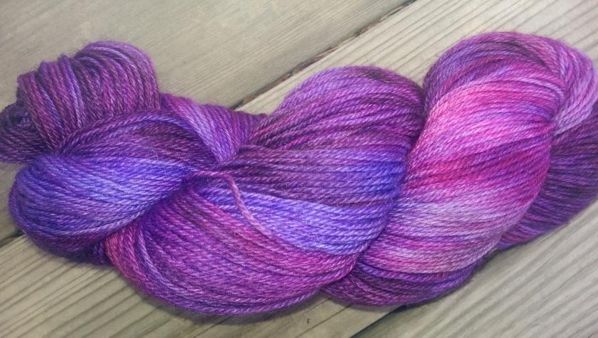 Sock yarn.