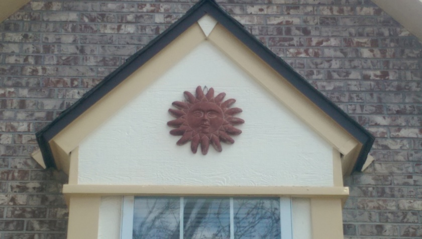 Decoration on house.