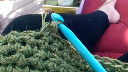 Crochet hook.