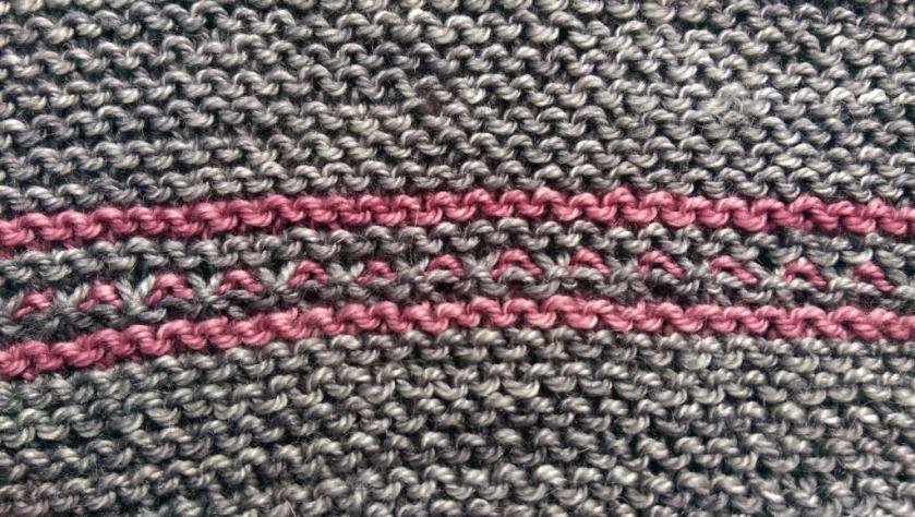 Close-up of stitches