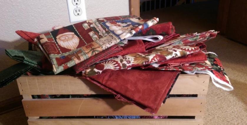 Crate of Fabrics
