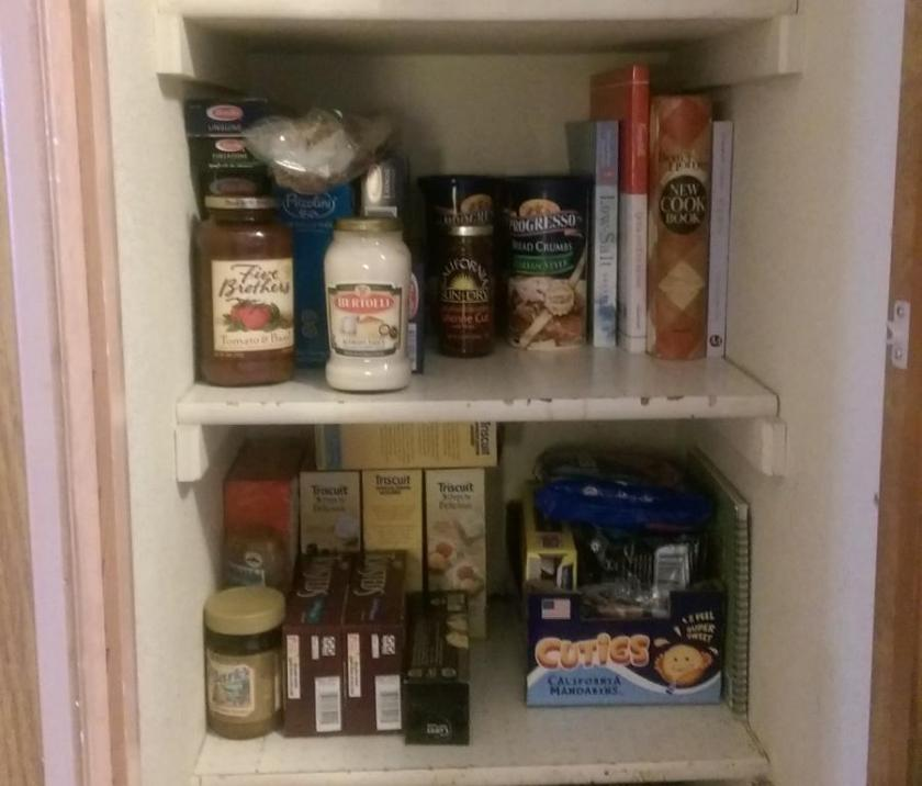 Cleaned Pantry