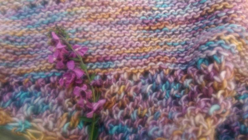 Close-up of Knitting
