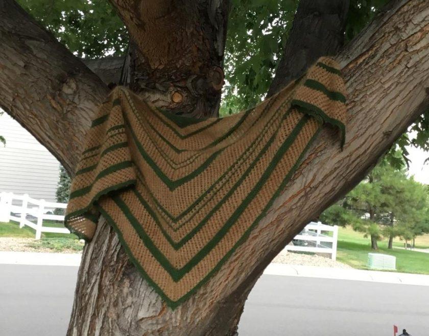Shawl in Tree