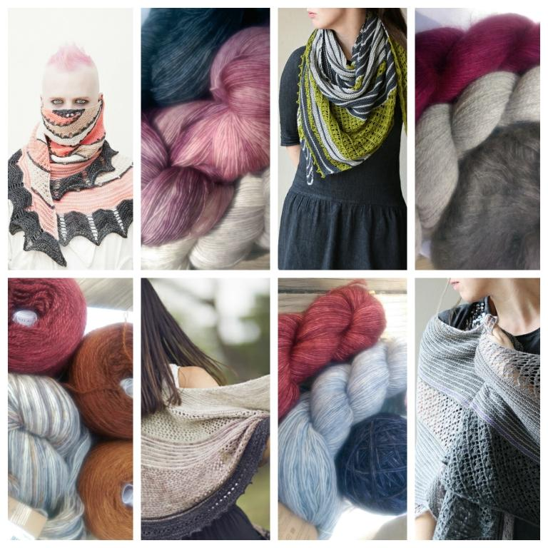Shawls and Yarn