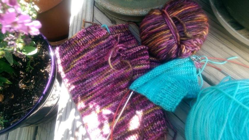 Unfinished Mitts
