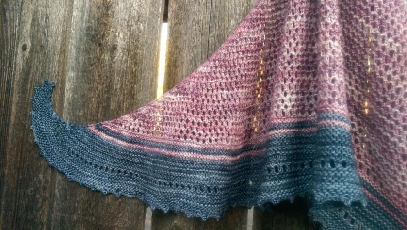 Wing of shawl