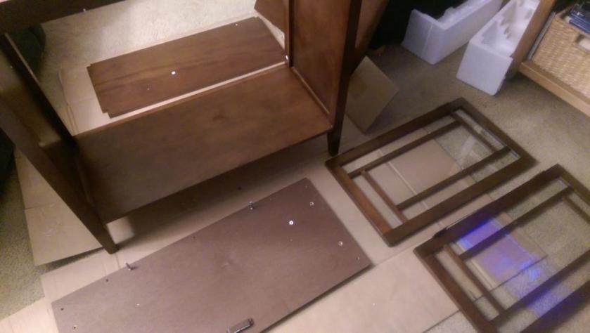 Cabinet pieces