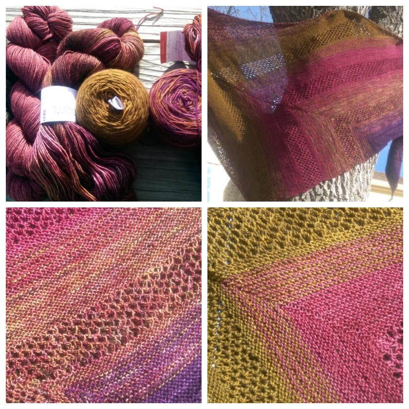 Shawl Collage