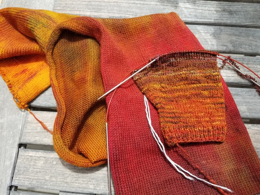 Sock Blank and Mitt
