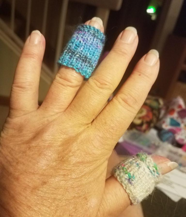Finger Protectors.