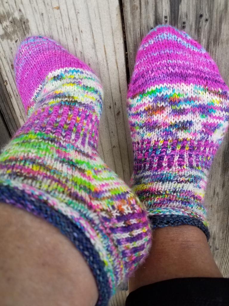 Finished Socks.