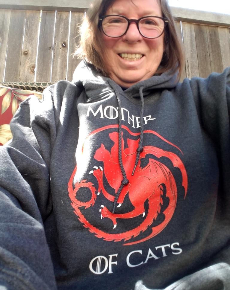 Mother of Cats Sweatshirt.
