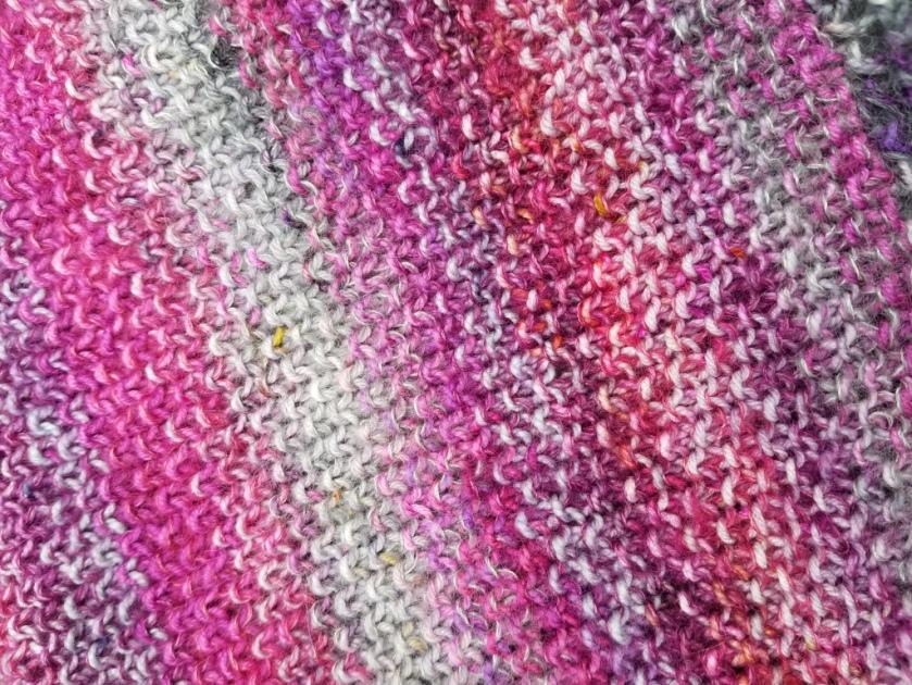 Knitting Closeup.