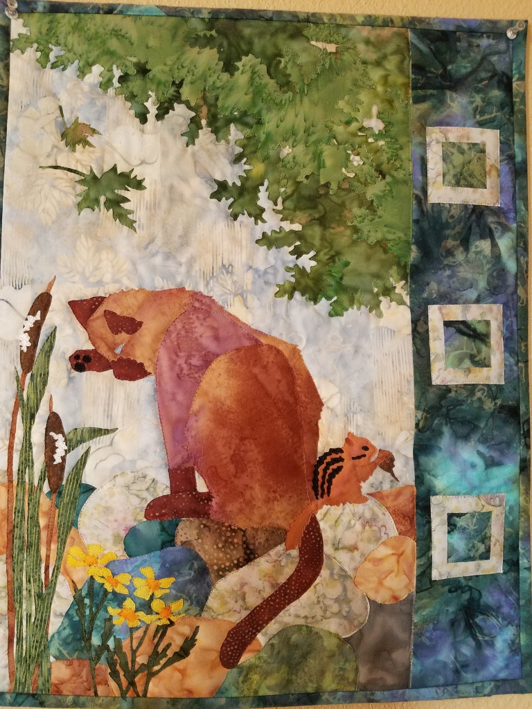 Siamese Cat quilt.