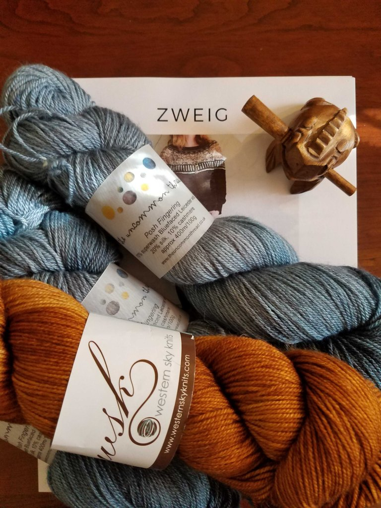 Yarn for sweater