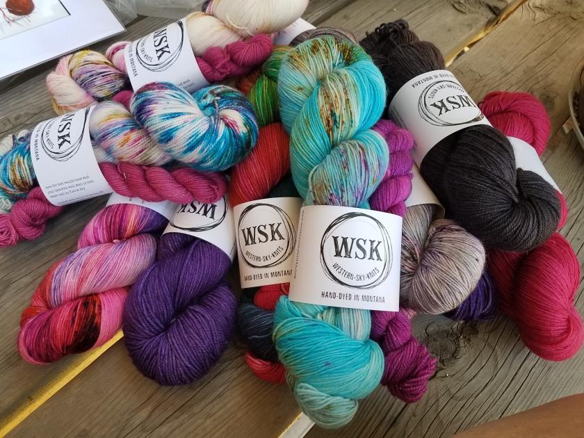 WSK yarn.