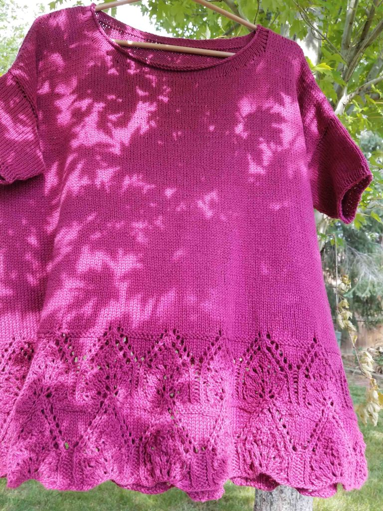 Finished Tegna sweater.