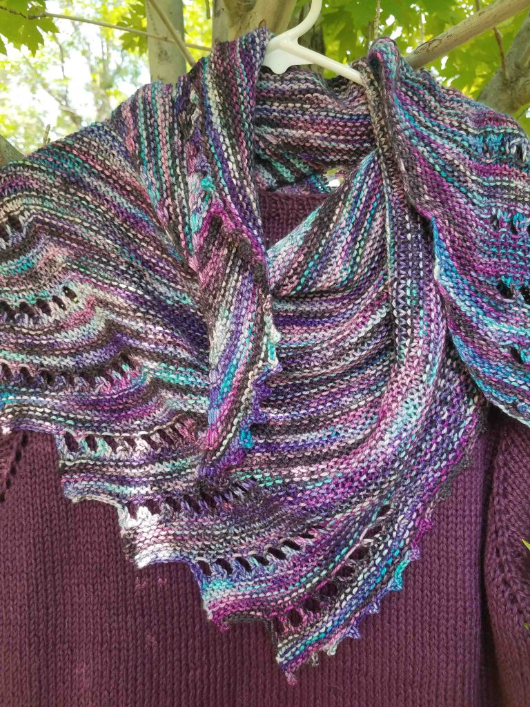 Close to You Shawl.