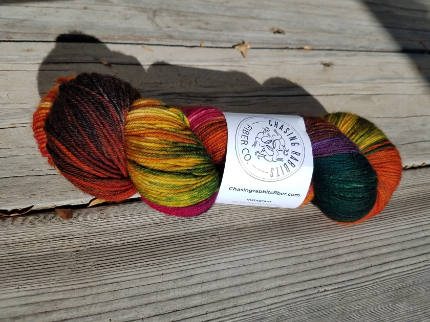 Colorful October skein.