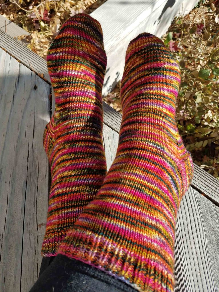 Finished socks.