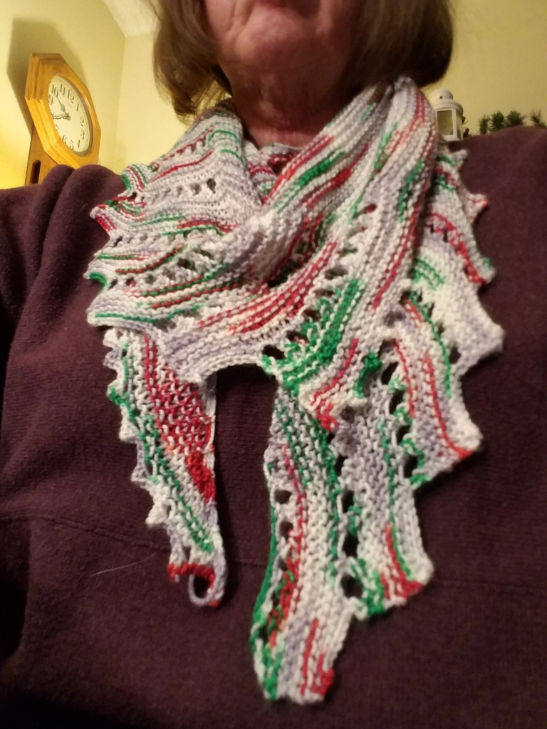 Christmas shawl.