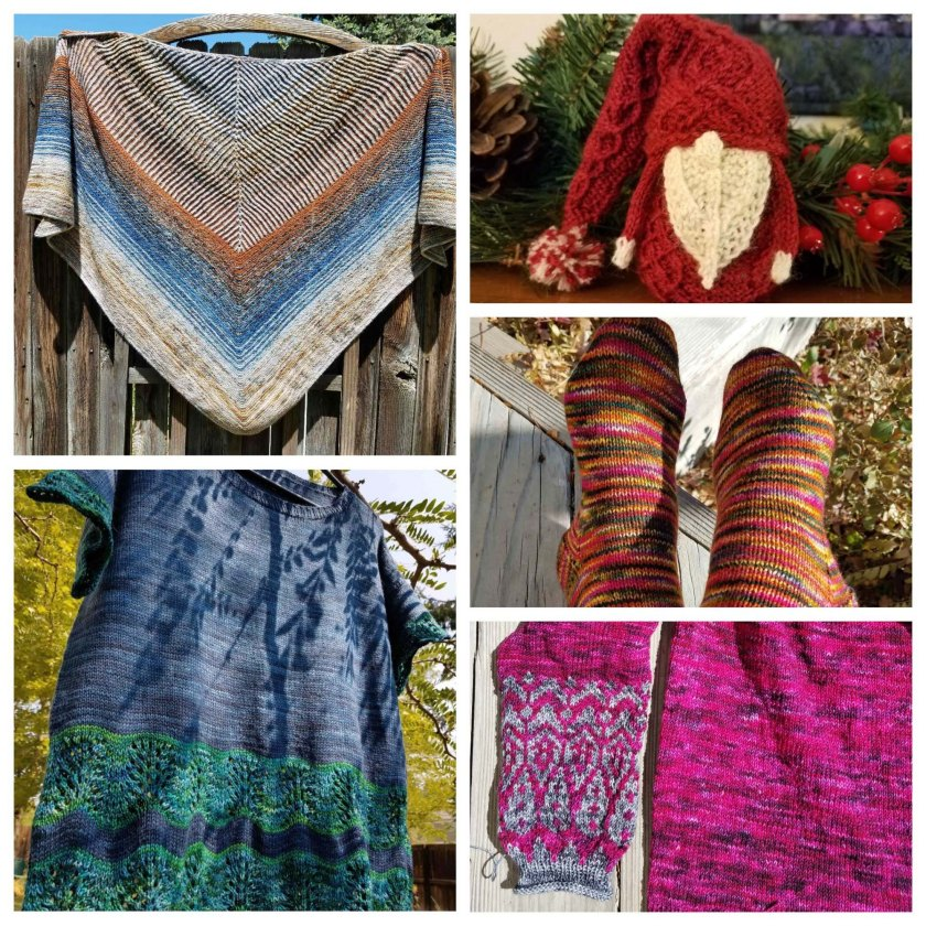 2018 Knitting Projects